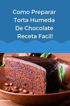 Si te gustan los postres con chocolate tienes que probar esta receta, eso sí, no es la torta de chocolate húmeda y esponjosa más fácil de mundo, pero sin duda será una de las más sabrosas que hayas probado. #recetasfaciles #postres #chocolate