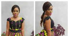 Pretty & Trendy Ankara Skirt and Blouse Styles for Cute Ladies