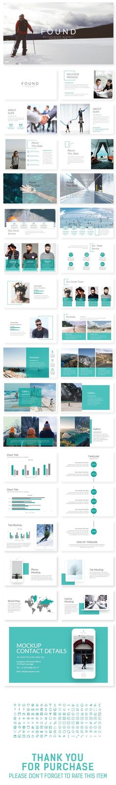 FOUND Presentation Template - Creative PowerPoint Templates