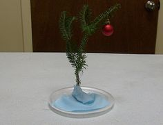 Charlie Brown Christmas Tree DIY