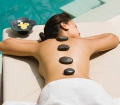 hot rock spa treatment