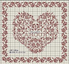 ru / Фото - Only Hearts - Summerville Just Cross Stitch, Cross Stitch Needles, Cross Stitch Heart, Christmas Embroidery Patterns, Diy Embroidery, Cross Stitch Embroidery, Cross Stitch Sampler Patterns, Wedding Cross Stitch Patterns, Little Stitch
