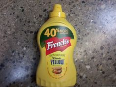 "Frenchs reviews on Pissed Consumer ""French's Mustard has been using a very deceptive label on their 20 oz.mustard.  The top of the label, in very large bold print, reads ""40% MORE"". Then the very small print below it reads ""than our 14 oz. size"". Why do we need to know this? ..."" http://www.pissedconsumer.com/reviews-by-company/frenchs/deceptive-labeling-20131006451333.html"