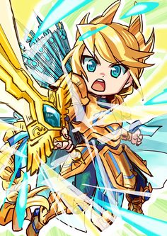 Brave Frontier: Atro by 9mg2