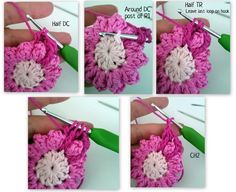 Pretty Flowers,  Crochet designs, diagrams, how to's and ideasJune1.jpg
