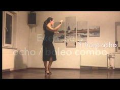 Ochos, boleos, embellishment combo - Mini practice (6) - YouTube