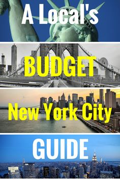 Budget travel in New York City? No, its not impossible. Find out how all the local's save money in New York City. I promise, New York City attractions and New York City sites don't have to be expensive with these money saving, travel hacks and travel tips in New York City.
