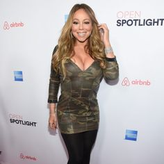 Mariah Carey Flaunts Major Cleavage on the Red Carpet
