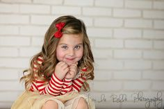 cute pose for a little girl, studio photography, Utah, lou la belle photography