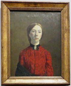 "London_Tate. Гвен Джон (Gwendolen Mary John) ""Автопортрет"", 1902 Gwen John, London, Painting, Art, Art Background, Painting Art, Kunst, Paintings, Performing Arts"