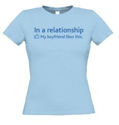 T-shirt Facebook status