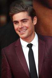 Zac Efron: I am proud to say that he was my first crush ever even though he is WAY too old for me.