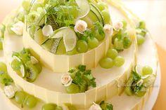 ウエディング グリーンケーキ - Google 検索