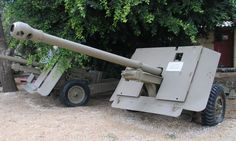 Ordnance Quick-Firing - anti-tank mm inch) gun developed by the United Kingdom during World War II. in Batey ha-Osef museum, Israel Commonwealth, Military Paint, Cromwell Tank, M10 Tank Destroyer, Leather Rifle Sling, Italian Campaign, British Army, British Tanks, Sherman Tank