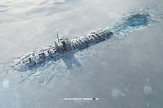Print ad: Navy Submarine Recruitment: Determination