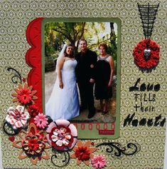 Love fills their Hearts - Scrapbook.com