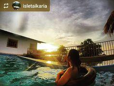 From @isletaikaria: #Sunset #isletasdegranada #Granada #Nicaragua #ILoveGranada #AmoGranada #Travel