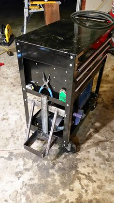 Modifications to the HF 4 and 5 drawer service carts - what changes have you made? - Page 62 - The Garage Journal Board