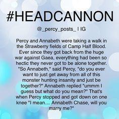 Percy Jackson Headcanons