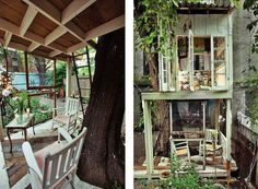 7 Tiny Tree Houses for Adults That Your Inner Child Will Love: A Tree House in Brooklyn