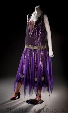 Evening dress by Paul Poiret, 1928, France.