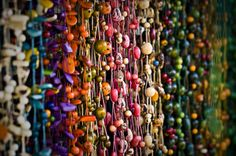Beaded Curtains: Bohemian Pages: Remember those Beaded Curtains!