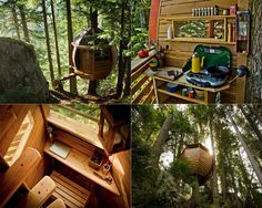 A tiny spot in the woods | 17 Tree Houses For Adults