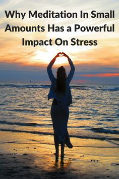Meditation in small amounts has powerful impact on stress