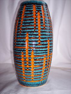 Gorgeous German vase by Scheurich
