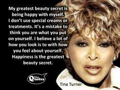 Tina Turner's beauty secret