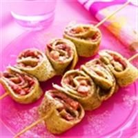 Pannenkoek met chocoladeaardbeien