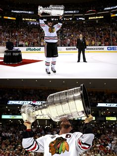 First kiss jitters. #becauseitsthecup #onegoal