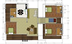 MyHousePlanShop: Single Story Three Bedroom House Plan Designed To Be Built In 233 Square Meters Home Design Plans, Plan Design, Roof Design, House Design, Single Storey House Plans, Three Bedroom House Plan, Front Porch Design, Home Pictures, Building A House