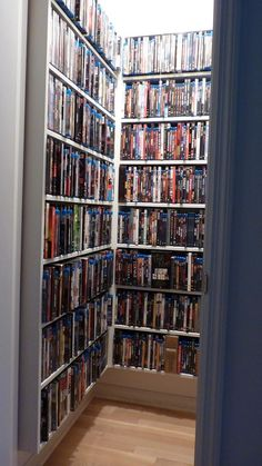 Blu Ray Room Storage