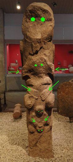 Gobekli Tepe stone totem., page 1