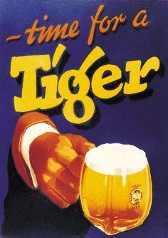Vintage Tiger Beer Advertising