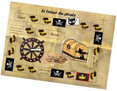 le trésor du pirate - jeu de coopération autour de la division Cycle 3, Math Division, Pirate Theme, Birthday Fun, Fun Learning, Literacy, Activities For Kids, Education, Games