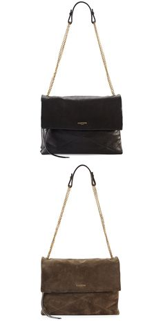 The Lanvin Sugar Bag-what a gorgeous handbag!  Very classy and timeless-would love to have one.......