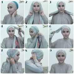 Tie A Turban, Mode Turban, Turban Hijab, Turban Style, Turban Tutorial, Hijab Style Tutorial, Hair Wrap Scarf, Head Scarf Styles, African Head Wraps
