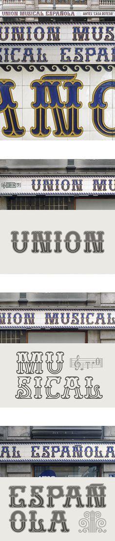 """Unión Musical Española – Antes """"Casa Dotesio"""" 1. Valencia"""