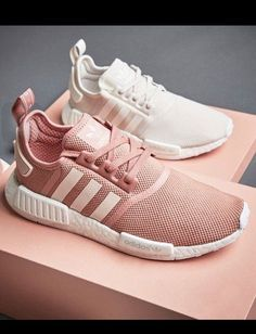 62fde6ae7 Adidas Women Shoes Adidas Women Shoes - Women Adidas Fashion Trending  Pink White Leisure Running Sports Shoes - We reveal the news in sneakers  for spring ...