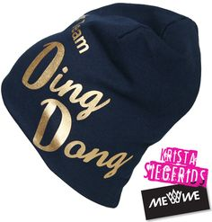 The Ding Dong cap is here! Woohoo! You can order it from http://www.mewe.fi #KristaSiegfrids #TeamDingDong
