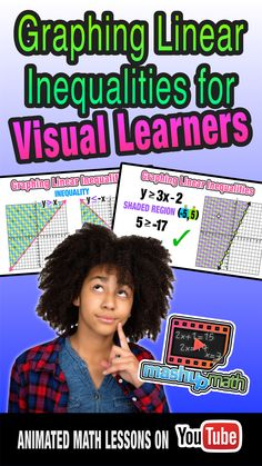 Check out our flipped math lesson on graphing linear inequalities. This common core aligned lesson is a perfect introduction for Algebra I students who are visually learners! Enjoy :)