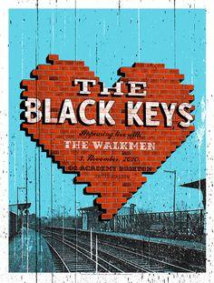 2 of the best bands around!!!!!!  THE BLACK KEYS & THE WALKMEN