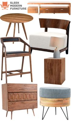 Contemporary, Industrial, and Real Walnut! New Fall Styles up to 40% Off! | SleekModernFurniture.com