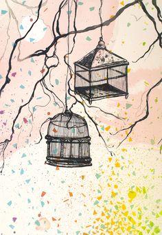 Gro Mukta Holter - Fly Illustration Art, Illustrations, Snoopy, Fine Art, Wall Art, Fictional Characters, Kunst, Illustration, Fantasy Characters