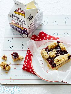 """11 Back to School Recipes Your Kids Will Really Love   BLACKBERRY JAM OAT BARS   Looking for a sweet, but not too sweet, kid-friendly dessert? Look no further. YouTube's Laura in the Kitchen star Laura Vitale shares a """"great, homemade comfort food"""" treat packed with blackberries and oranges."""