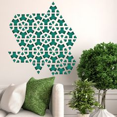 Currently inspired by: Triangle Wall Decals Set on Fab.com