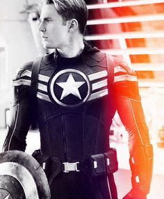 """Captain America- I think I really started liking him so much after he says """"there's only one God mam and I'm pretty sure  he doesn't dress like that"""""""
