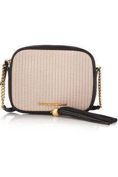 Marc by Marc Jacobs Gig Mossheart quilted leather shoulder bag | NET-A-PORTER